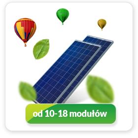 Instalacja 3 kWp – 5 kWp